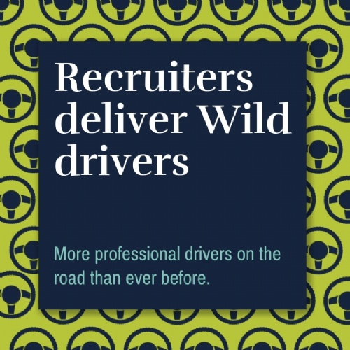 Recruiters deliver Wild drivers