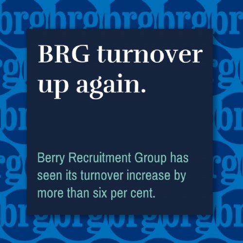BRG's turnover up again