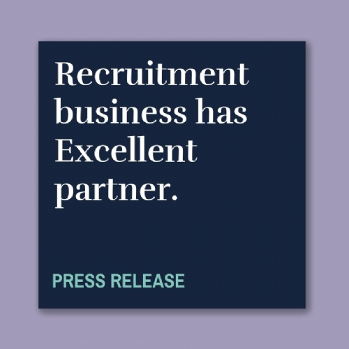 Recruitment business has Excellent partner