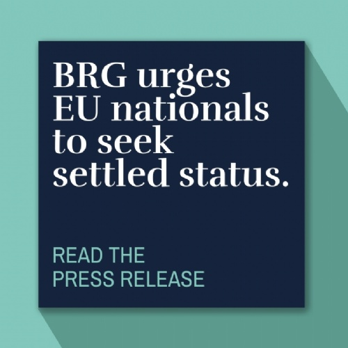 BRG urges EU nationals to seek settled status