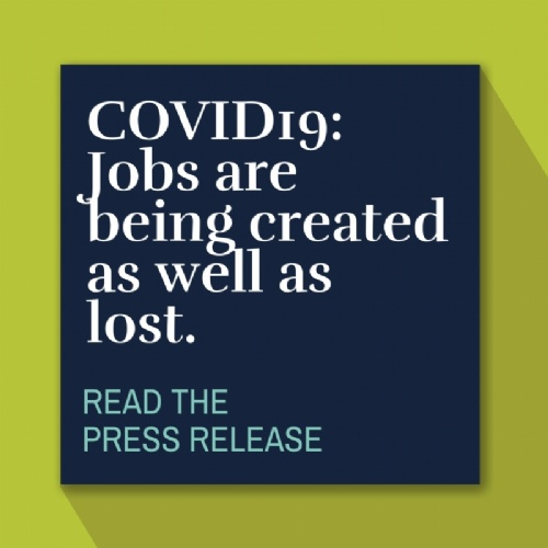 COVID-19: Jobs are being created as well as lost.
