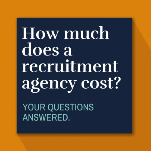 How much does a recruitment agency cost?