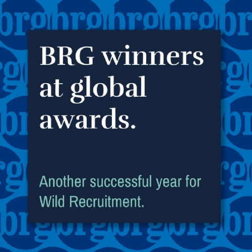 BRG winners at global awards